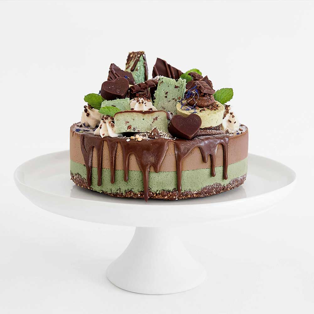 Choc Mint Cake